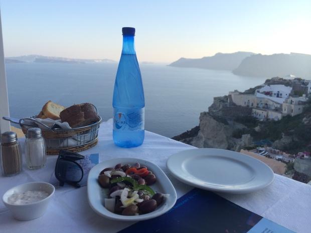 Skala Restaurant. Santorini,